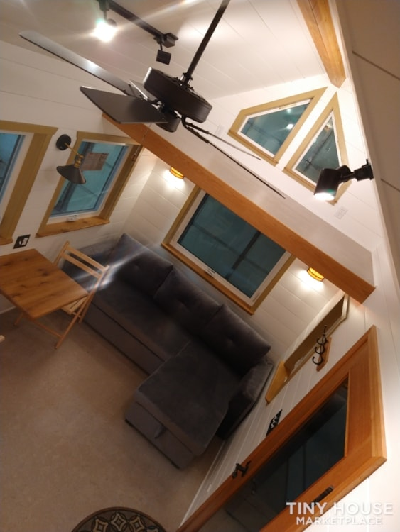 SOLD!! BRAND NEW 24' Tiny House 'The Aspen' by Wilding Woodworks Tiny Homes - Slide 24