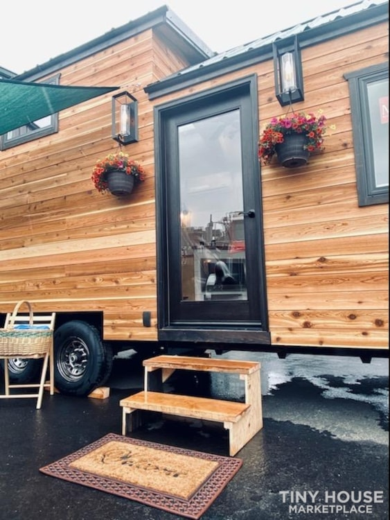 SOLD!! BRAND NEW 24' Tiny House 'The Aspen' by Wilding Woodworks Tiny Homes - Slide 27