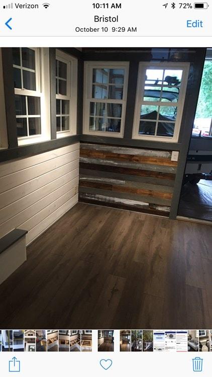MODEL HOME REDUCED to make room for production  - Slide 16
