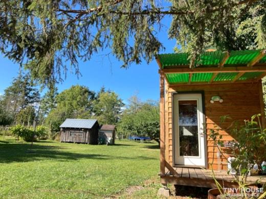 Cedar Sided Tiny Dream Home