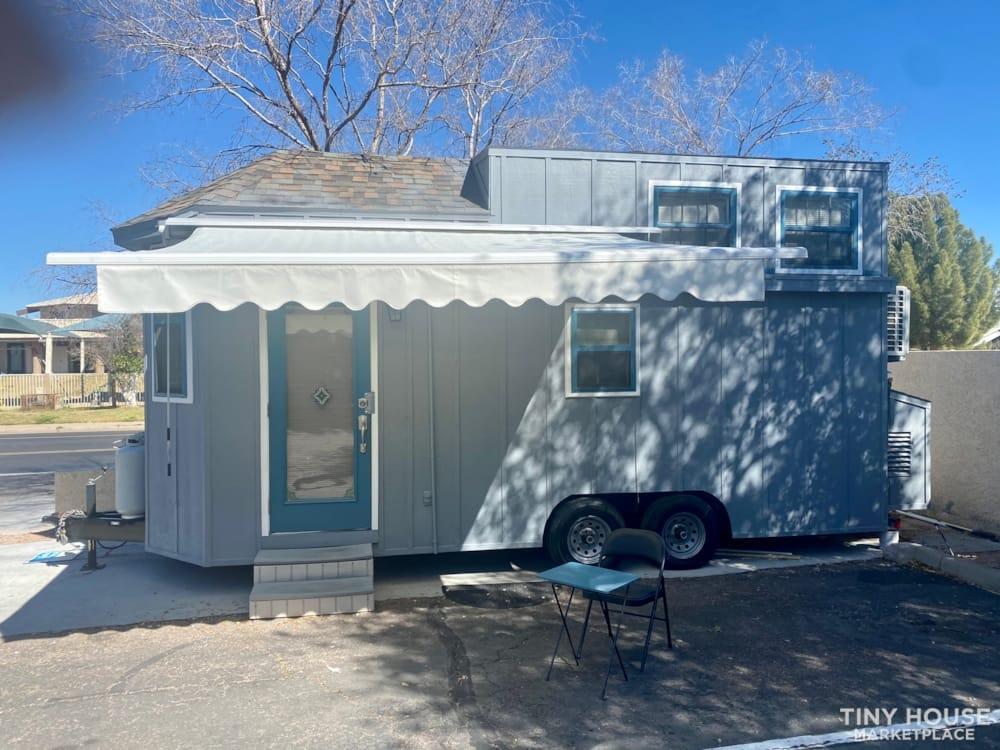 Charming Custom tiny house on trailer  - Slide 1