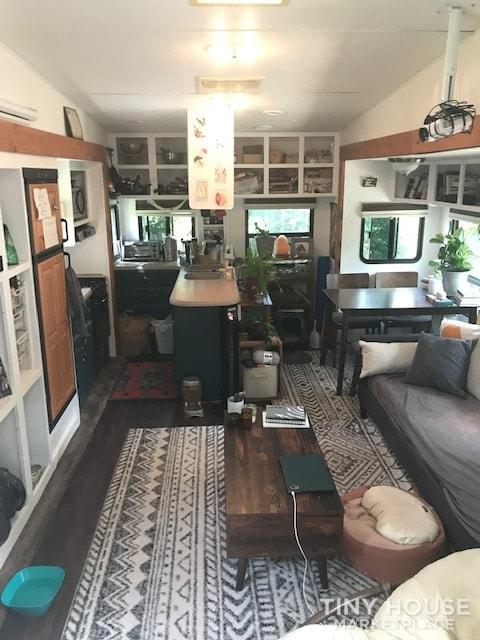 Comfy, Semi Off-Grid RV Tiny House