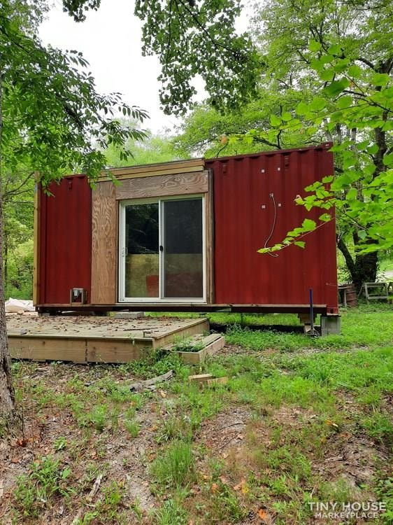 Converted Shipping Container Tiny Home 8' x 20' x 9' - Slide 1