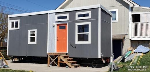 Custom 26 foot tiny house on wheels