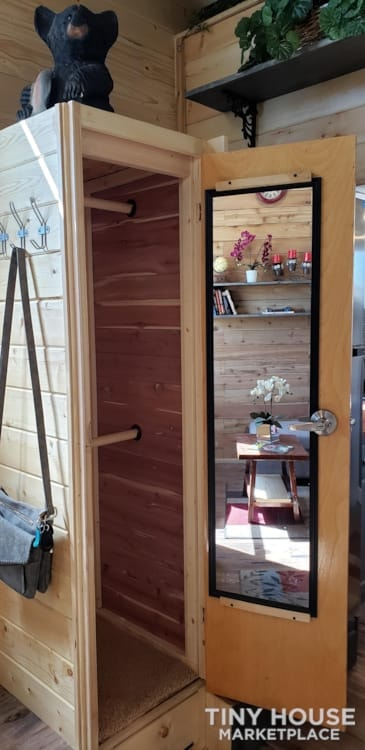 Custom 26 foot tiny house on wheels - Slide 2