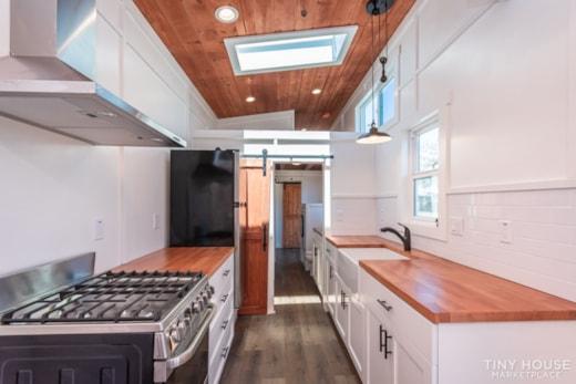 Custom 3 Bedroom 8.5' x 32' Tiny Home On Wheels