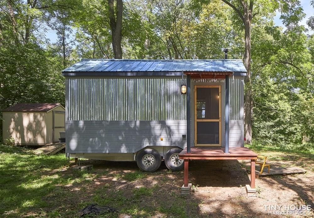 Custom Built Tiny House, Delivery Available  - Slide 1