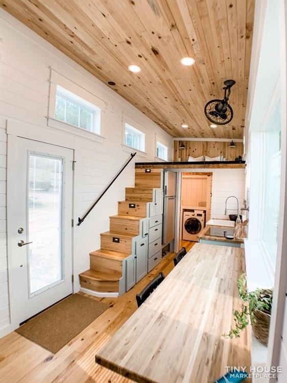 Custom Craftsman Tiny House - Slide 1