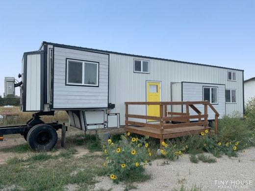 Custom Tiny House on Wheels - 2b/1b 375 sq.ft.