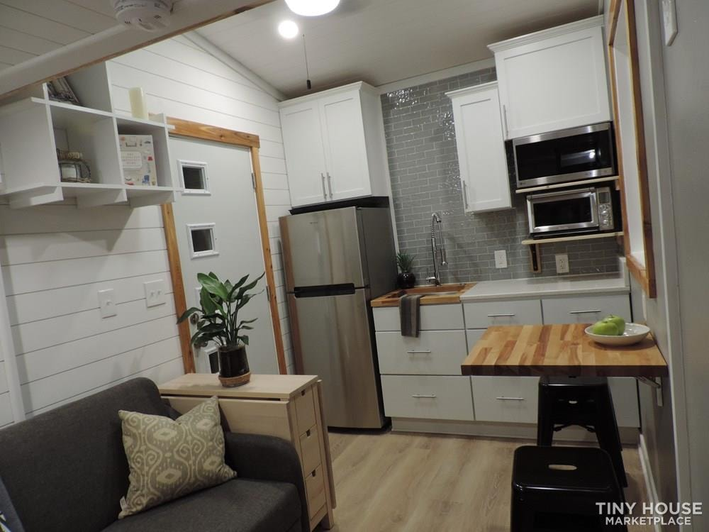 """""""The Endeavor"""" By Aspire Tiny Homes - Room for 6 to Relax and Sleep  - Slide 1"""