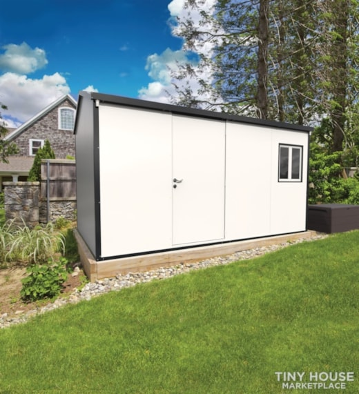 Gable Top Insulated Building 13x10 Office/Cabin/Shed
