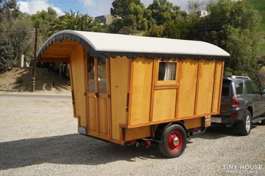 Hand Crafted Gypsy Vardo Style Camping Caravan