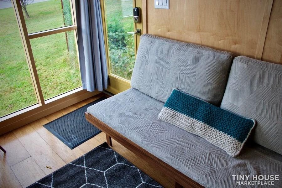 This Lightweight Custom Tiny Home is Beautiful, Spacious and Easy to Pull.  - Slide 3