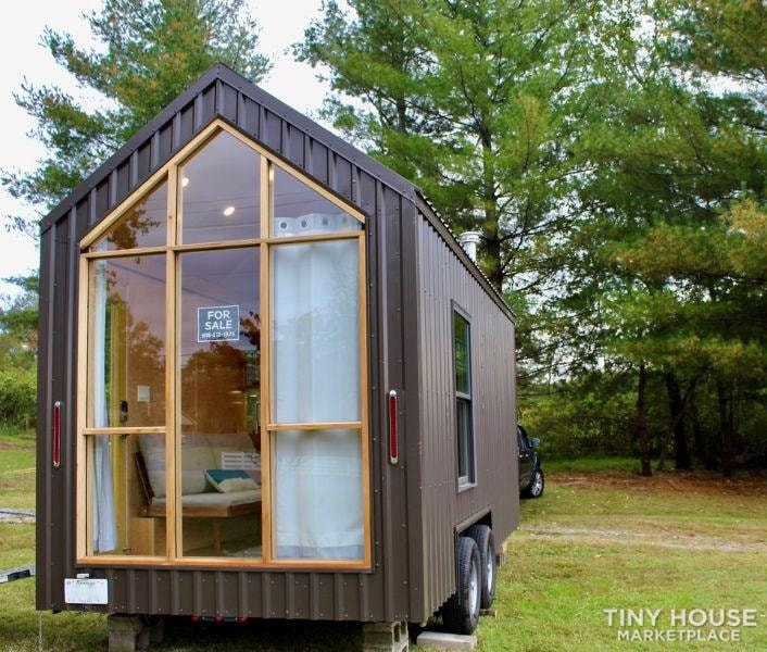 This Lightweight Custom Tiny Home is Beautiful, Spacious and Easy to Pull.  - Slide 6