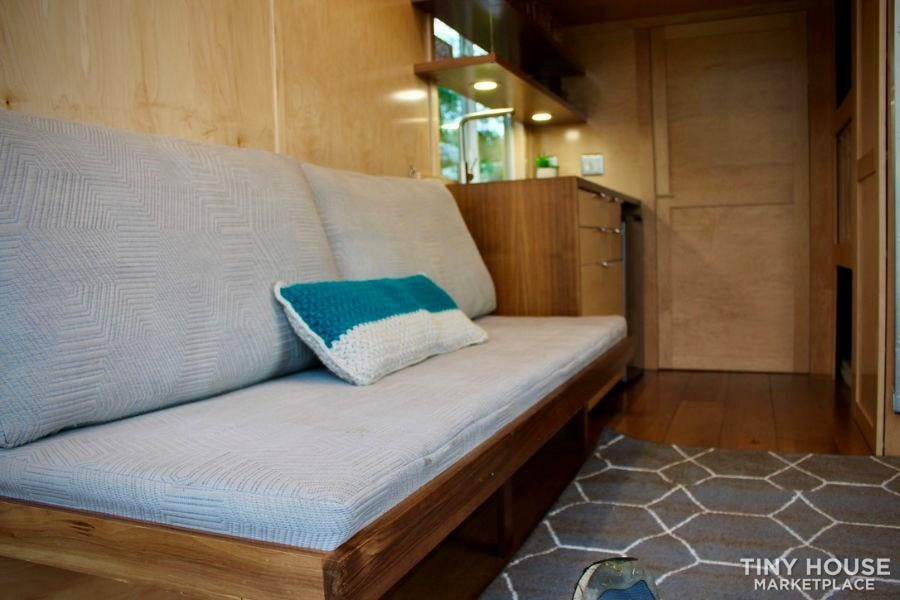 This Lightweight Custom Tiny Home is Beautiful, Spacious and Easy to Pull.  - Slide 8