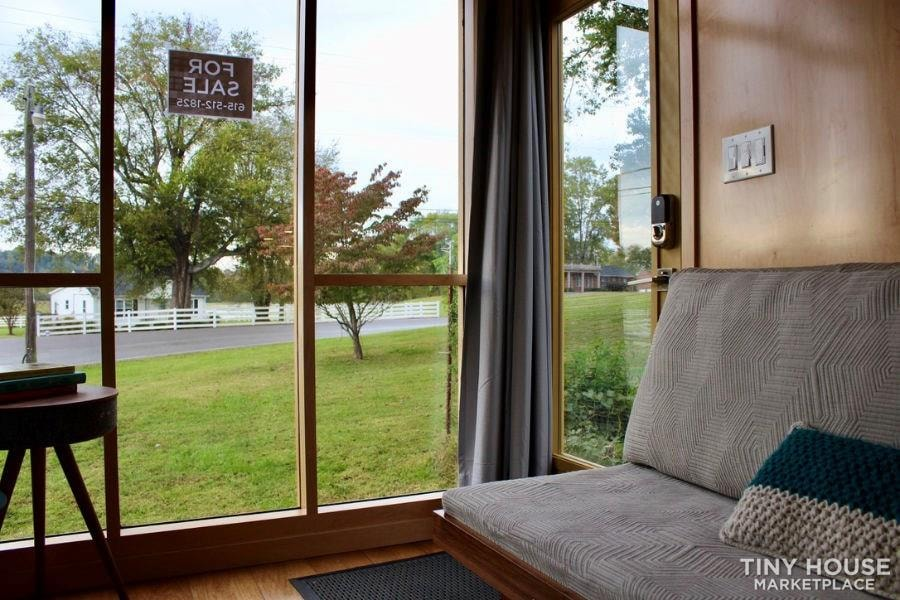 This Lightweight Custom Tiny Home is Beautiful, Spacious and Easy to Pull.  - Slide 16