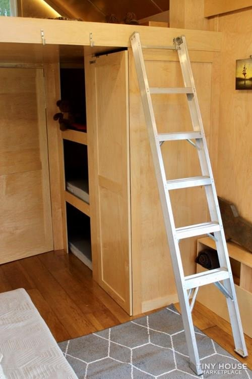 This Lightweight Custom Tiny Home is Beautiful, Spacious and Easy to Pull.  - Slide 19