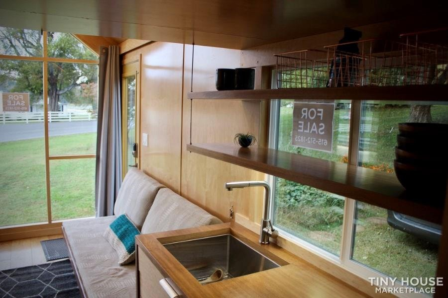 This Lightweight Custom Tiny Home is Beautiful, Spacious and Easy to Pull.  - Slide 32