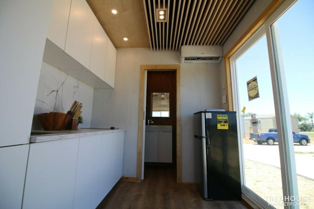 "Luxury Modern Tiny House On Wheels 24x8'6"" - Slide 2"
