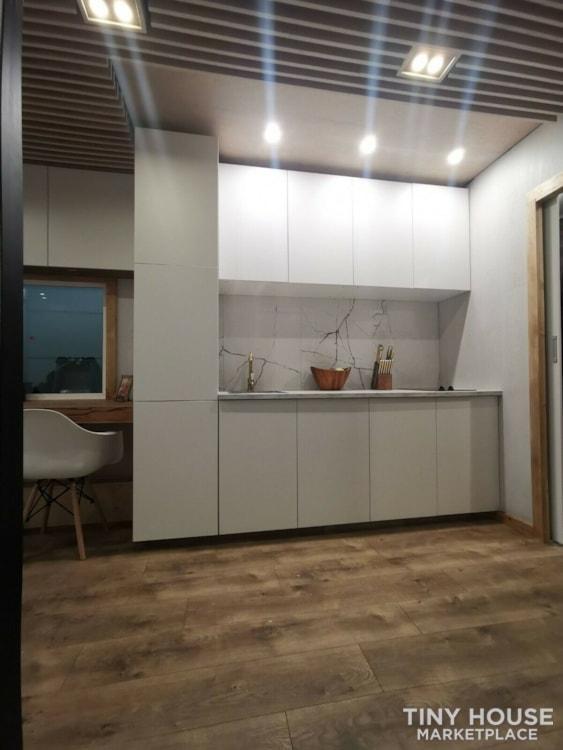 "Luxury Modern Tiny House On Wheels 24x8'6"" - Slide 4"