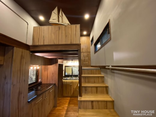 Modern tiny house on wheels for sale