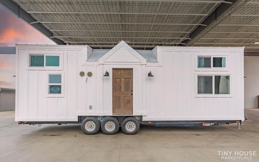 Move In Ready 3 Bed 1 Bath 8' x 32' Custom Tiny Home! - Slide 1