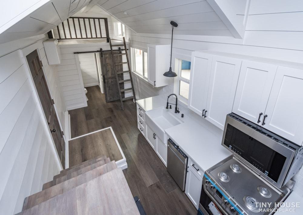 Move In Ready 3 Bed 1 Bath 8' x 32' Custom Tiny Home! - Slide 37