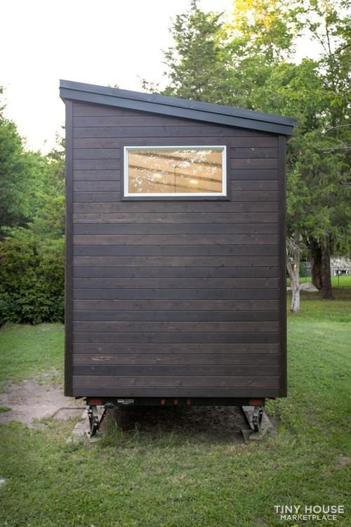 Natural Modern Luxury 26ft Tiny House on Trailer by Made Relative - Slide 3