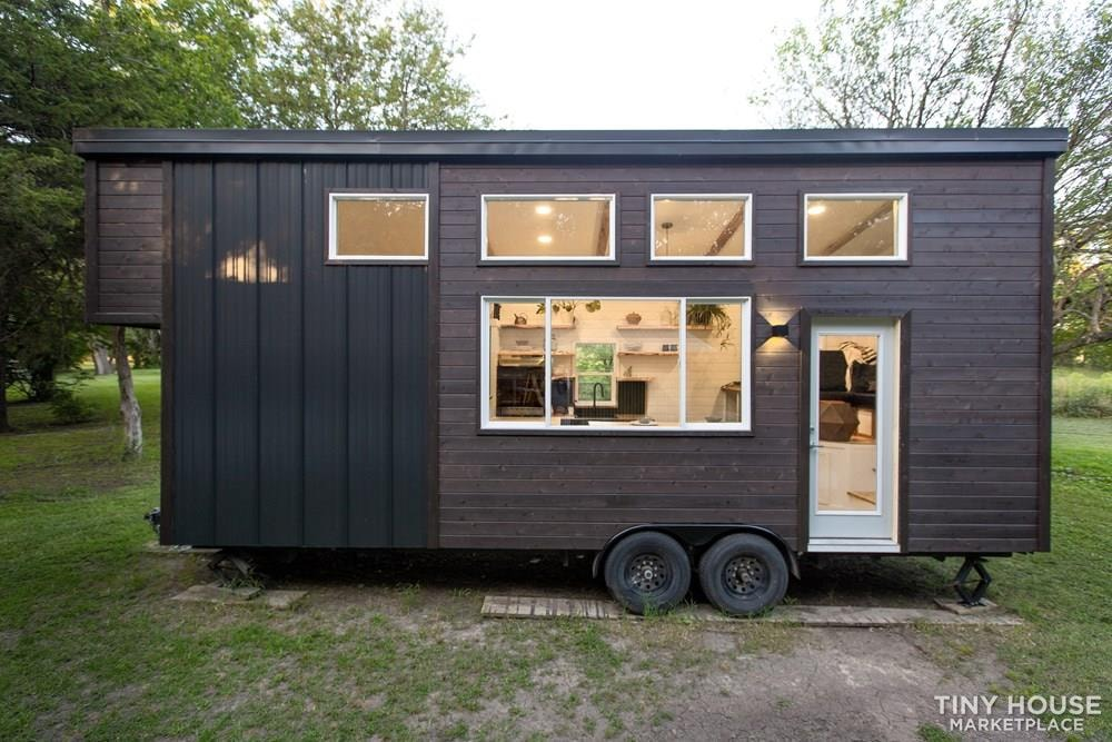 Natural Modern Luxury 26ft Tiny House on Trailer by Made Relative - Slide 6