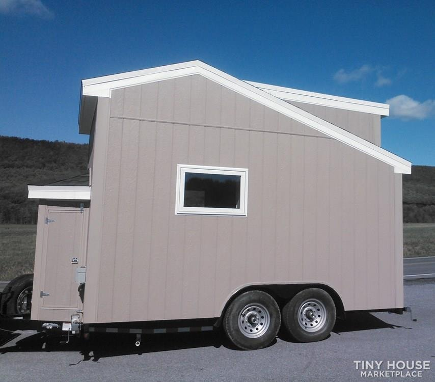New 14 foot tiny home on wheels  - Slide 3
