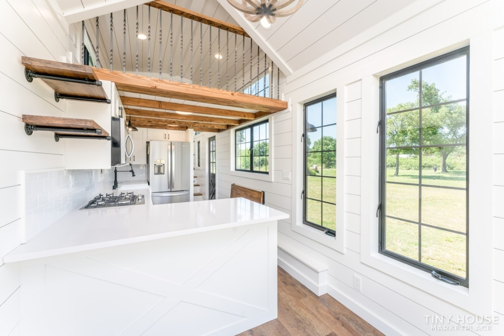 Custom Luxury Modern FarmHouse Tiny House (Built To Order & Customizable) - Slide 1