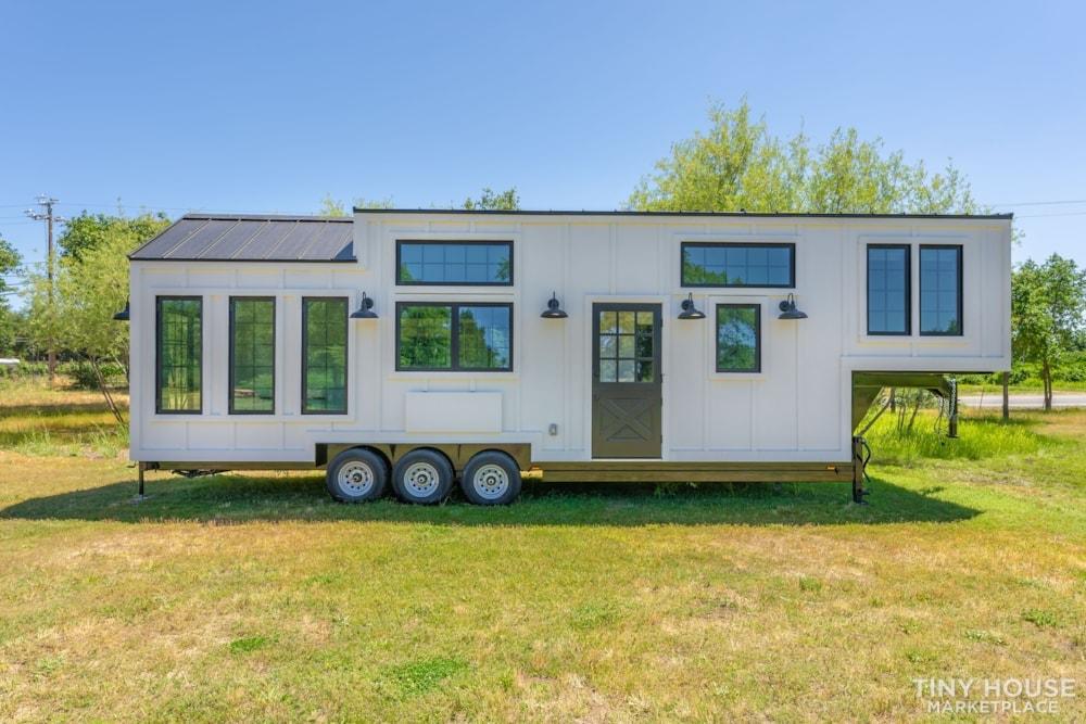 Custom Luxury Modern FarmHouse Tiny House (Built To Order & Customizable) - Slide 2