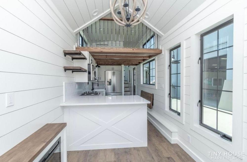 Custom Luxury Modern FarmHouse Tiny House (Built To Order & Customizable) - Slide 10