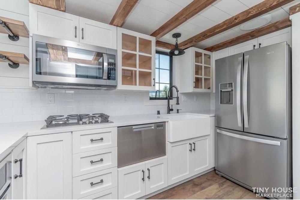 Custom Luxury Modern FarmHouse Tiny House (Built To Order & Customizable) - Slide 12