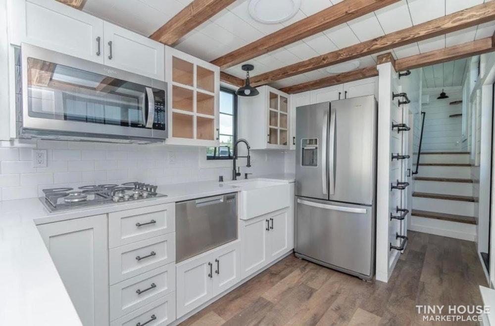 Custom Luxury Modern FarmHouse Tiny House (Built To Order & Customizable) - Slide 13