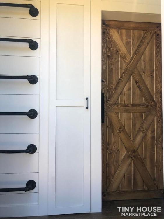 Custom Luxury Modern FarmHouse Tiny House (Built To Order & Customizable) - Slide 21
