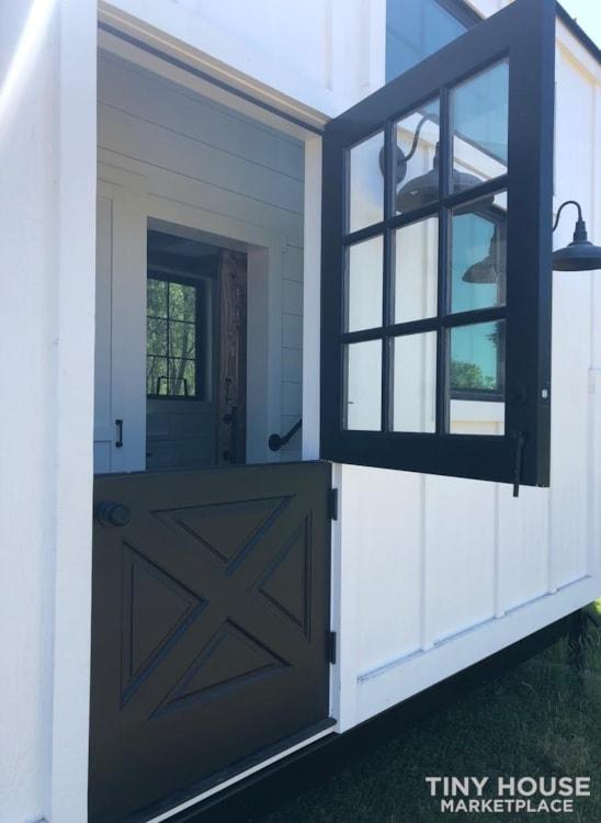 Custom Luxury Modern FarmHouse Tiny House (Built To Order & Customizable) - Slide 33
