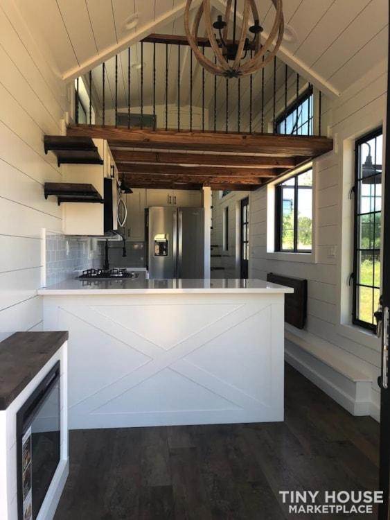 Custom Luxury Modern FarmHouse Tiny House (Built To Order & Customizable) - Slide 36