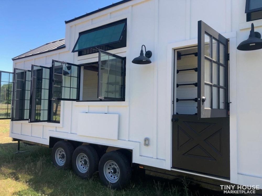 Custom Luxury Modern FarmHouse Tiny House (Built To Order & Customizable) - Slide 37