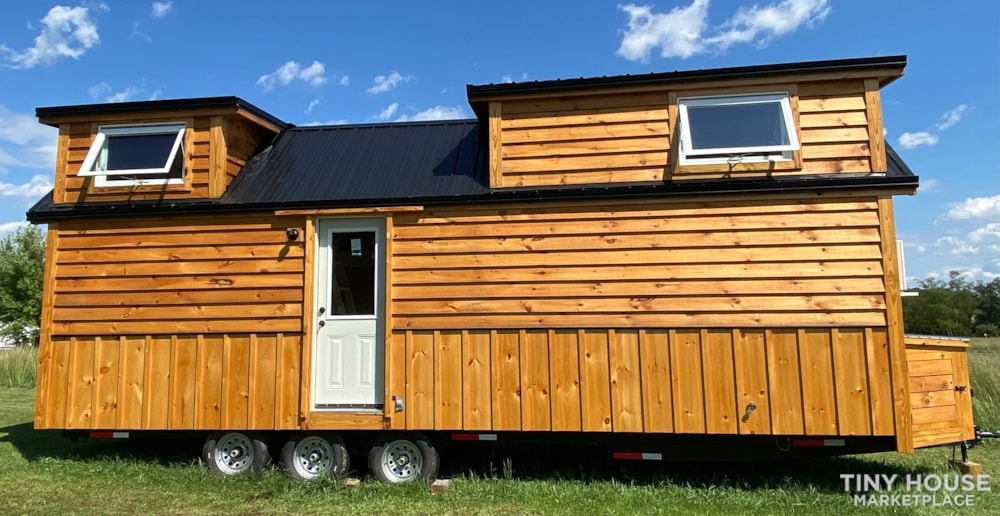 New 2021 Freedom Style 9'x28' Tiny Home on Wheels - Slide 1