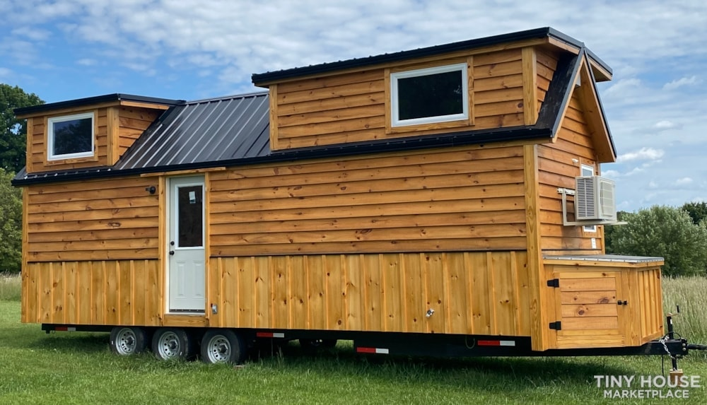 New 2021 Freedom Style 9'x28' Tiny Home on Wheels - Slide 2