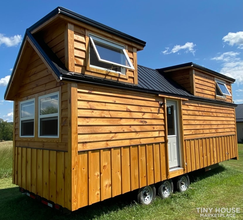 New 2021 Freedom Style 9'x28' Tiny Home on Wheels - Slide 3