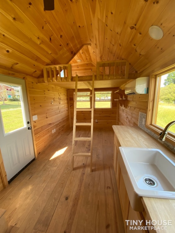 New 2021 Freedom Style 9'x28' Tiny Home on Wheels - Slide 12