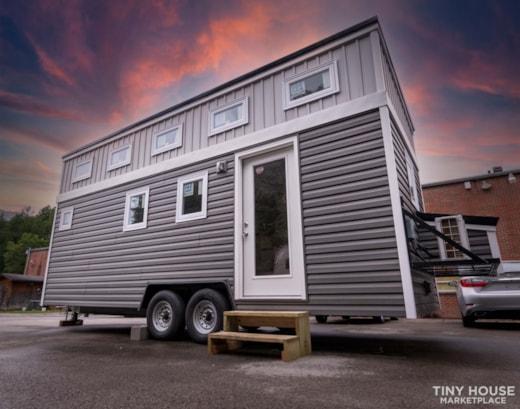 (SOLD!)  New 24' Tiny House KVEC Knott Co. ATC