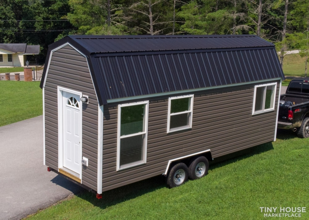 (SOLD!) New 24' Tiny House KVEC Lee Co. ATC - Slide 3