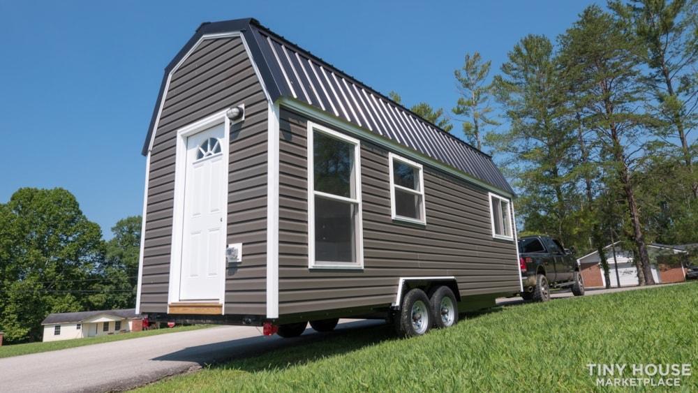 (SOLD!) New 24' Tiny House KVEC Lee Co. ATC - Slide 7