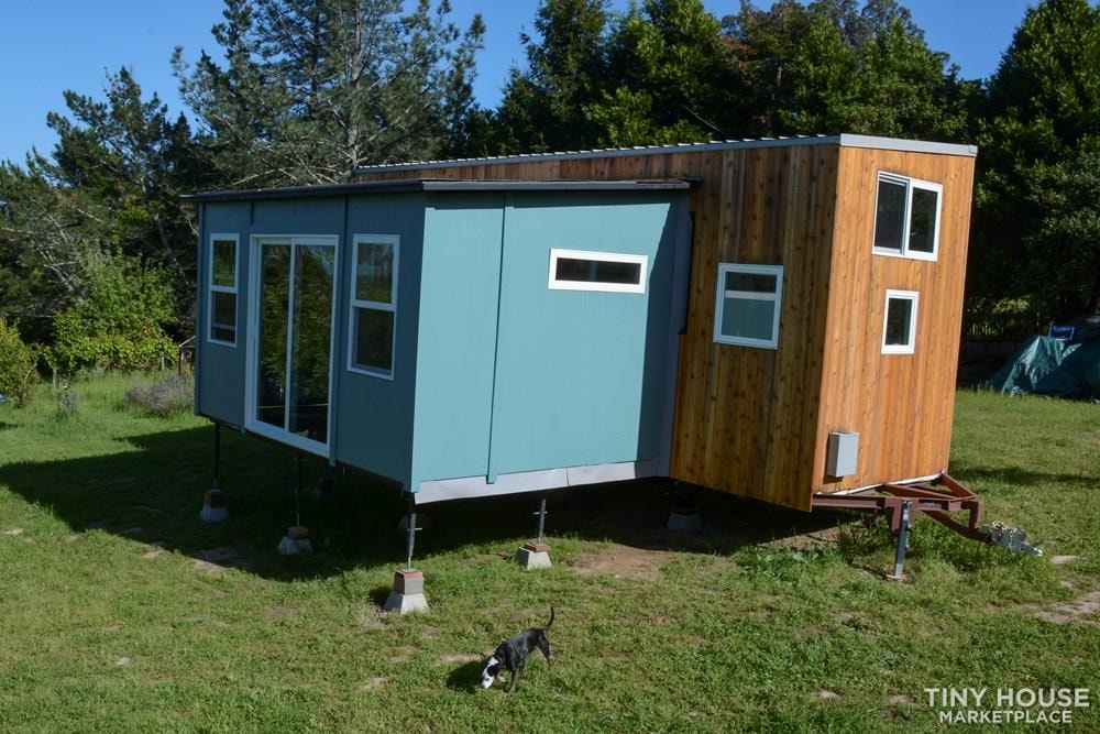 Not so tiny house: introducing the expandable, movable Wing Suite - Slide 1