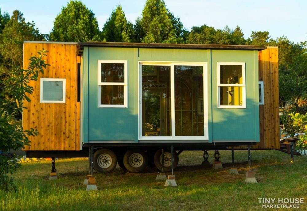 Not so tiny house: introducing the expandable, movable Wing Suite - Slide 2