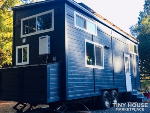 Off-Grid 26' Certified Tiny Home with Stairs