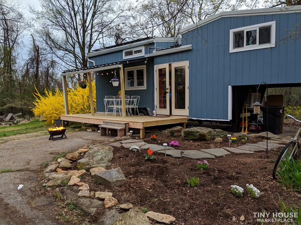 Off-Grid 32' Tiny House On Wheels For Sale - Slide 2